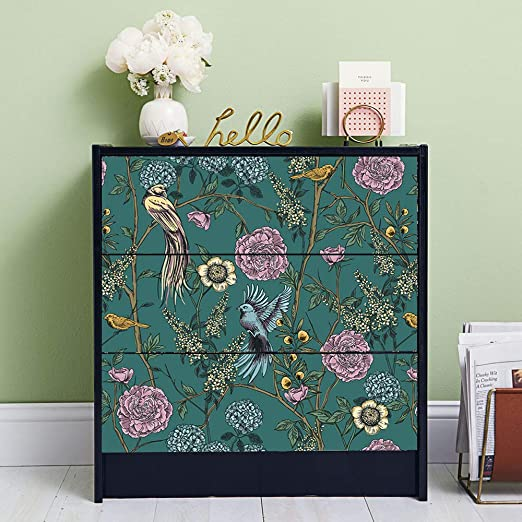Furniture STICKERS for IKEA MALM Chest of Drawers Self-Adhesive Knitted Patterns