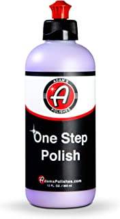 product image for Adam's One Step Polish 12oz - Safe for Clear Coat, Single Stage, or Lacquer Paint - Increased Cut & Finishing, Body Shop Safe - Easy Application and Removal, Excellent Shine
