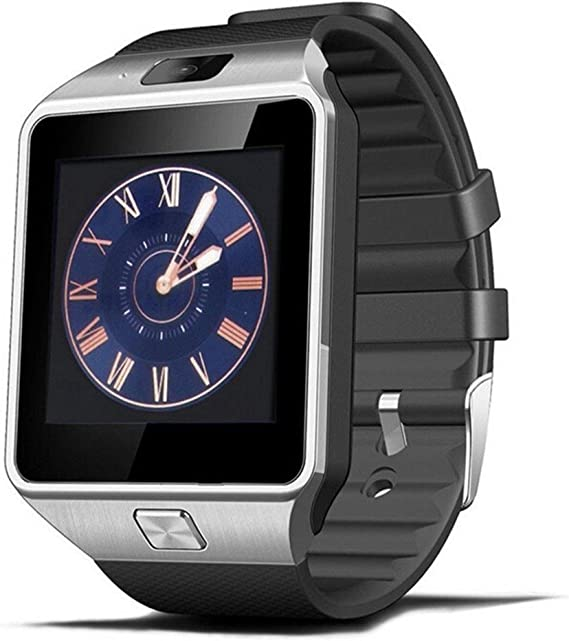 DZ09 smart watch latest card Bluetooth support Android Apple system, watch mobile phone Android smart mobile phone watch (Black)