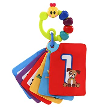 Amazon.com : Baby Einstein Shapes And Numbers Discovery Cards ...