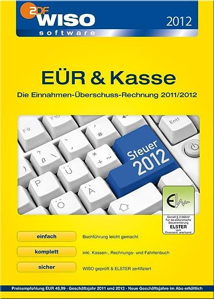 Wiso Eür Kasse 2012 Einnahme überschuss Rechnung Download