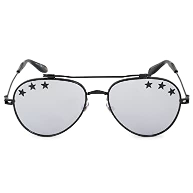 9494dcf9130 Image Unavailable. Image not available for. Color  Givenchy GV7057 STARS  807 Black GV7057 STARS Pilot Sunglasses Lens Category 3 L