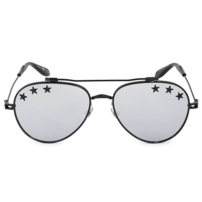 980578ca1b Givenchy GV 7057 STARS BLACK SILVER unisex Sunglasses  Givenchy  Amazon.ca   Clothing   Accessories