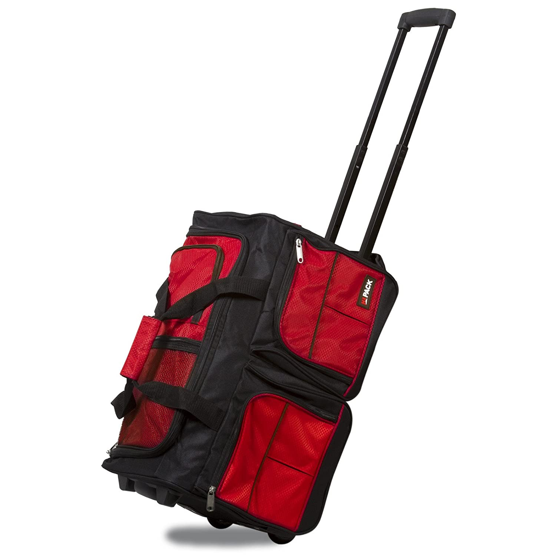 43c9c913ff Hipack 20-inch Carry-on Rolling Duffle Bag Duffel Bag