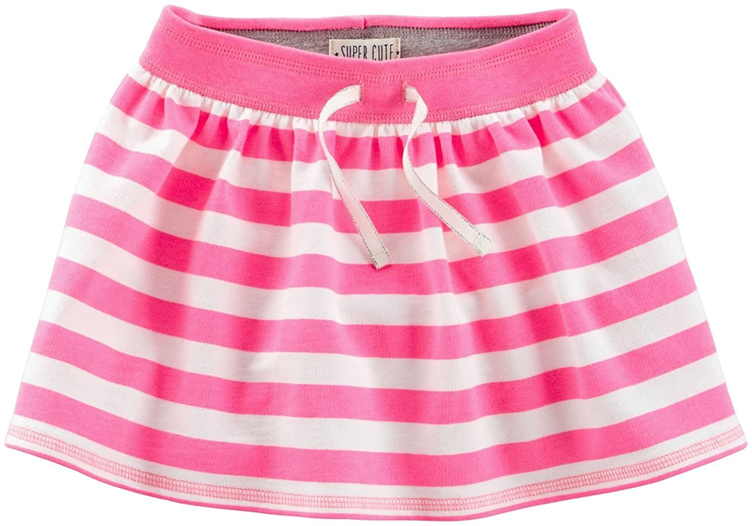 Amazon.com: Carters Francés Terry rayas patinete Falda Rosa ...