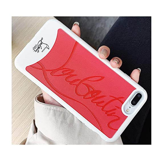 d43539aaf4c Amazon.com: Luxury Brand Red Sneakers Bottom Phone Case for iPhone 7 ...