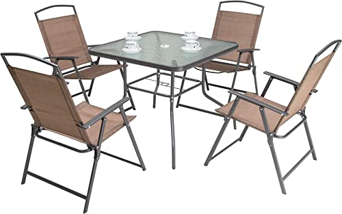 Crestlive Products 5 Piece Patio Dining Set