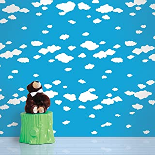 product image for Summer Clouds Removable Wallpaper