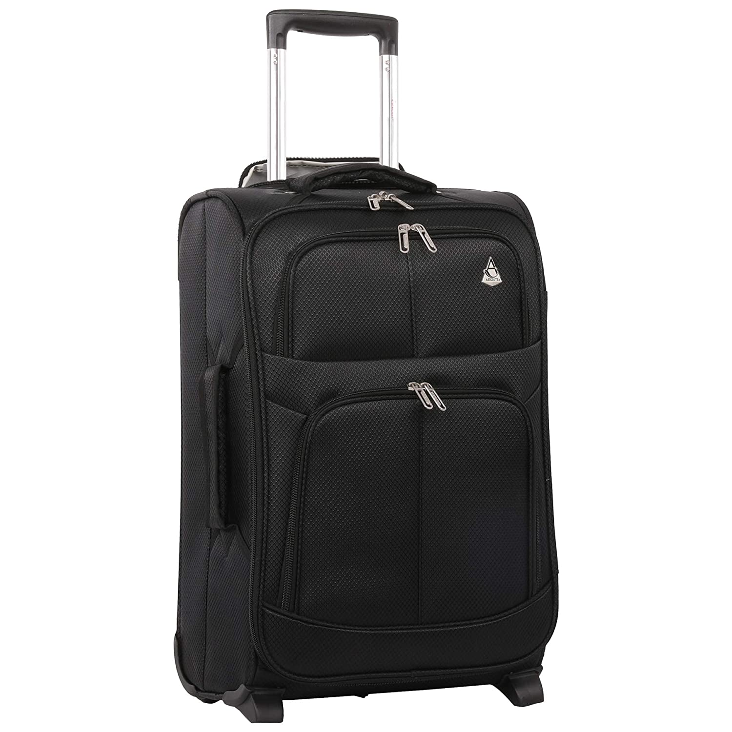 a261790ff Large Capacity Maximum Allowance 22x14x9 All Parts Carry On Luggage Bag |  Rolling Travel Suitcase Lightweight Small Soft Trolley for Men & Women |  Approved ...