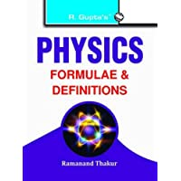 Physics Formulae & Definitions