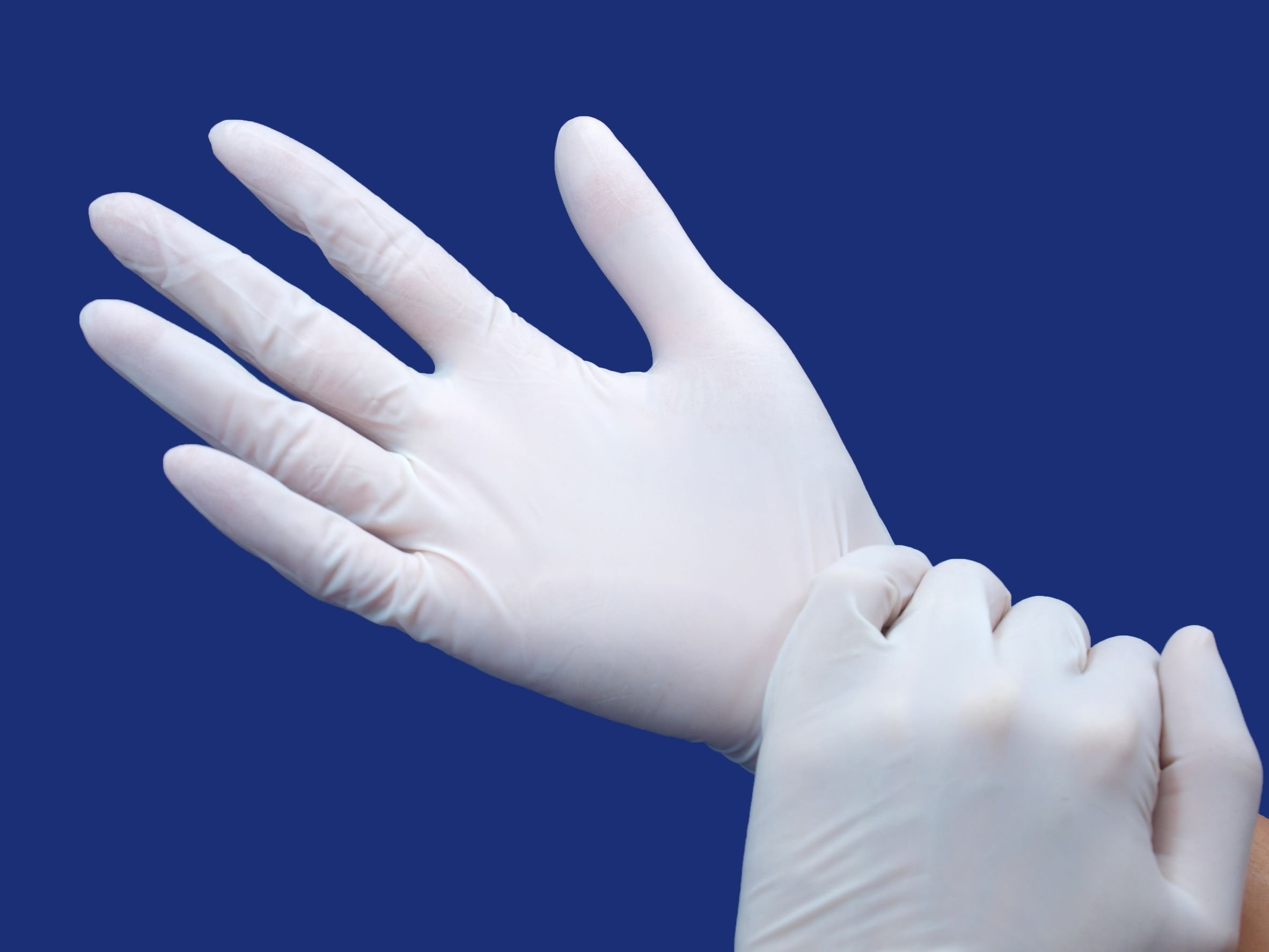 Nitrile Glove, White, Clearoom, Ambidextrous, Medium