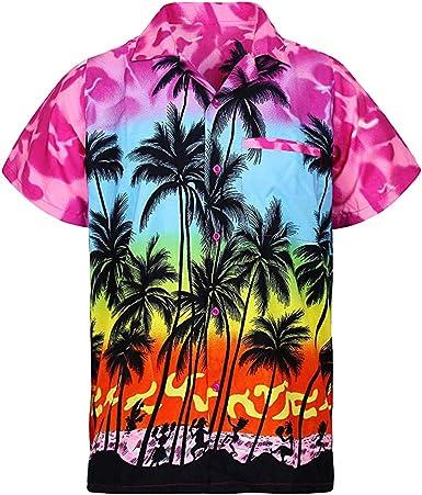 DUJIE Camisas Hawaianas Hombre, Camisas Casual para Hombre ...
