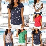 FORUU Fashion Women T Shirt Summer Loose Short