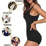 Irisnaya Shapewear Bodysuit Scoop Neck Tank Tops