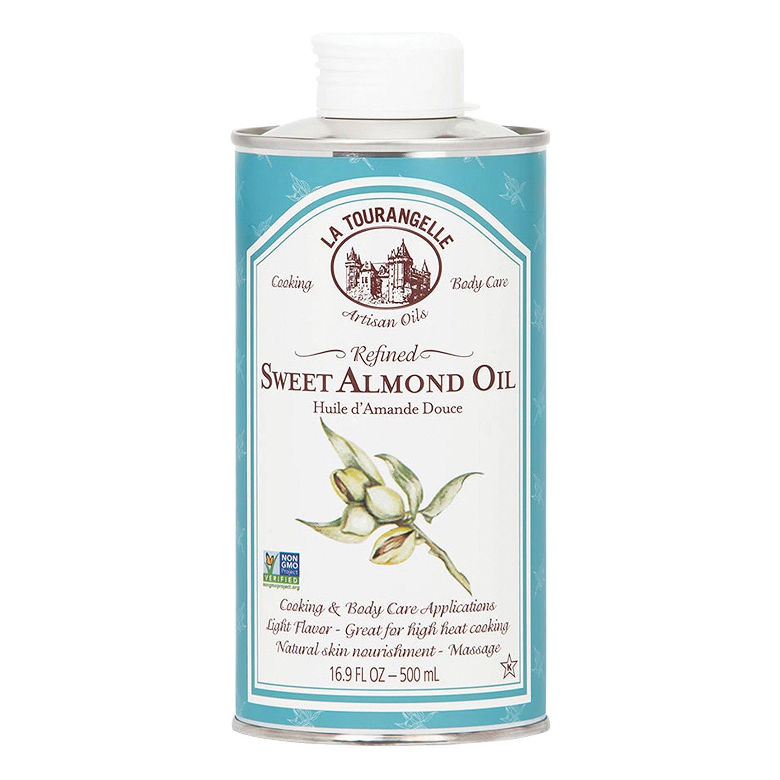 La Tourangelle Sweet Almond Oil - Case of 6 - 16.9 Fl oz.