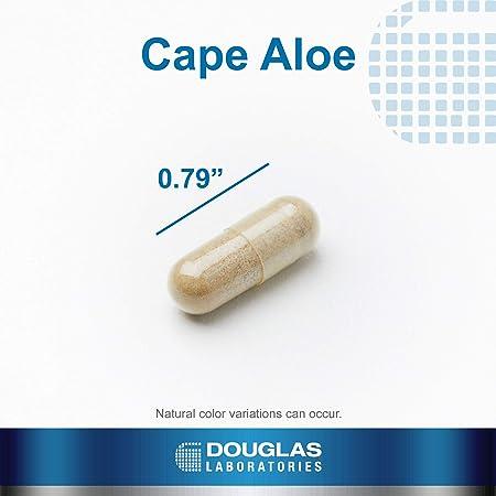 Douglas Laboratories® - Cape Aloe - Cape Aloe Latex Supports Bowel Regularity* - 100 Capsules