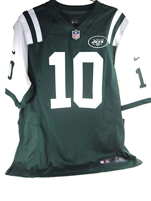 the latest 3ddf0 f94cb Nike NFL New York Jets Mens Santonio Holmes ON Field Game Day Jersey,Large