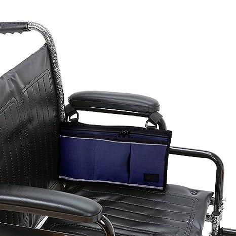 Bolsa para sillas de ruedas, Fushop Walker Rollator Bolsa para sillas de ruedas (Azul