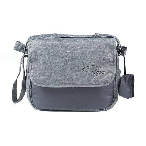 Roma Rizzo Bolso cambiador en gris incluye bolsa Ziplock y ...