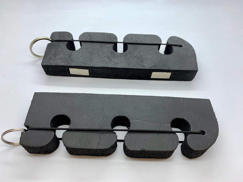 Olax 2 Piece High Density Foam Rod Holder, Magnetic Car Rod