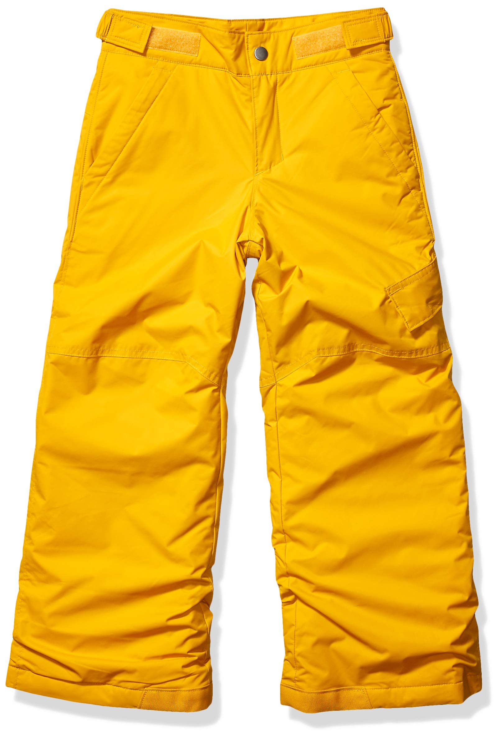 Columbia Boys' Kids Ice Slope II Pant, Golden Yellow, Small by Columbia