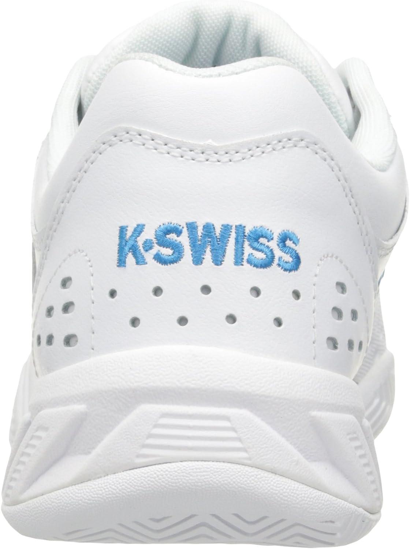 K-Swiss Performance Damen Bigshot Light Ltr Tennisschuhe, Weißer Ozean, 37 EU Weiß White Hawaiian Ocean 159
