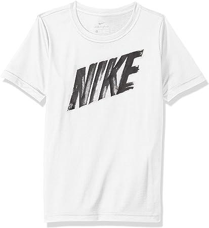 tee shirt nike blanc garcon