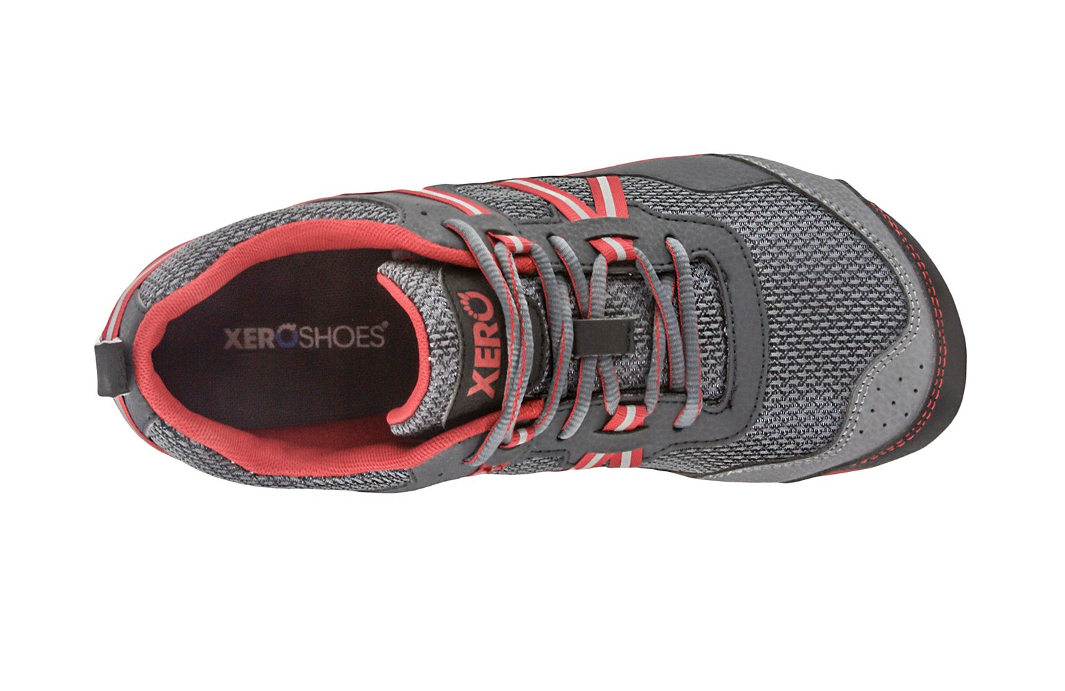 Xero Shoes Prio - Men's Minimalist Barefoot Trail and Road Running Shoe - Fitness, Athletic Zero Drop Sneaker - Charcoal Red by Xero Shoes (Image #5)