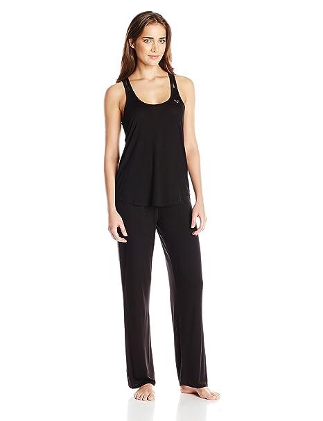 Betsey Johnson rayón de la mujer Knit Juego de pijama - negro -