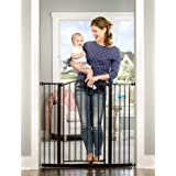 Regalo Easy Step Extra Tall Arched Décor Walk Thru Baby Gate, Includes 4-Inch Extension Kit, 4 Pack Pressure Mount Kit and 4