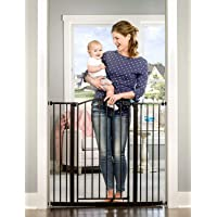 Regalo Easy Step Extra Tall Arched Décor Walk Thru Baby Gate, Includes 4-Inch Extension Kit, 4 Pack Pressure Mount Kit…