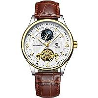 TEVISE Automatic Mechanical Watch Luminous Waterproof Sport Clock Business Wristwatch For Men