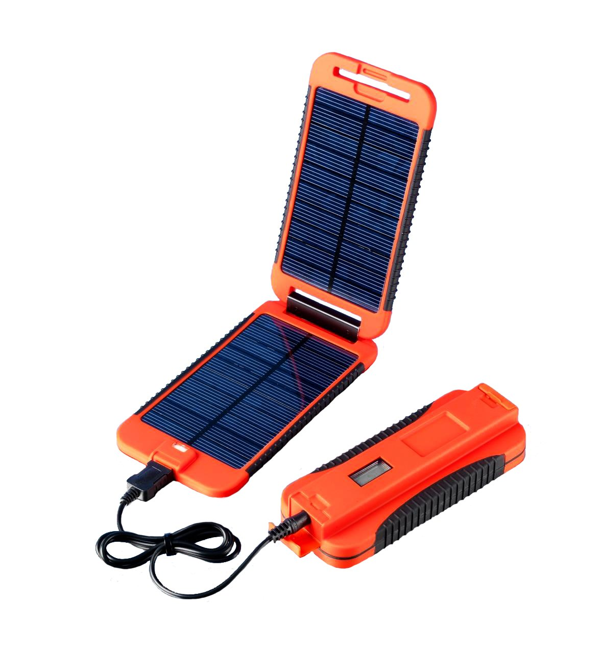 Exo-Science Powermonkey Extreme 5V and 12V Solar Portable Charger, Red by Exo-Science (Image #1)