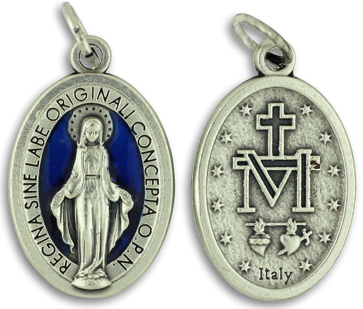 Amazon.com: Bulk Buy 5 Pcs - Miraculous Medal 1 Inch Lot of 5 ...