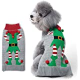 HAPEE Dog Sweater for Christmas Santa Pet Cat Clothes ,Dog Accessories, Dog Apparel , 1703