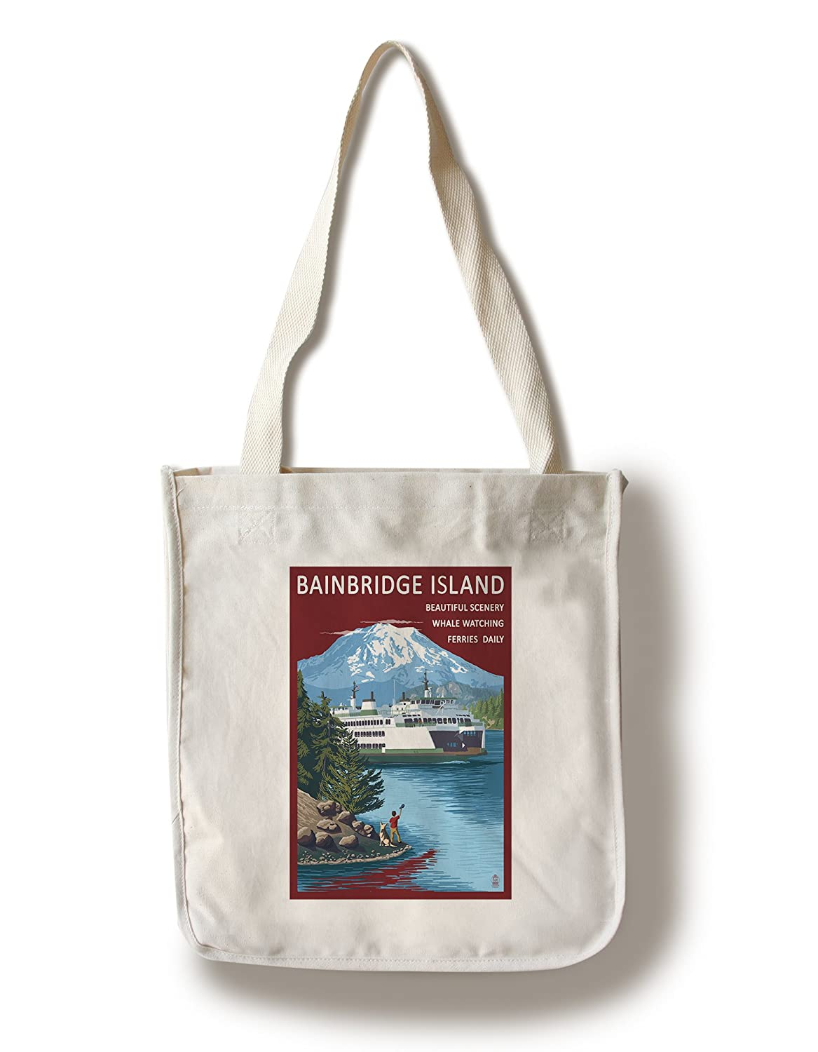 格安即決 ベインブリッジアイランド LANT-33227-TT – – Ferry and島 Canvas Tote Bag LANT-33227-TT Bag B018819VI4 Canvas Tote Bag, 妹背牛町:a07ba075 --- catconnects-ie.access.secure-ssl-servers.org