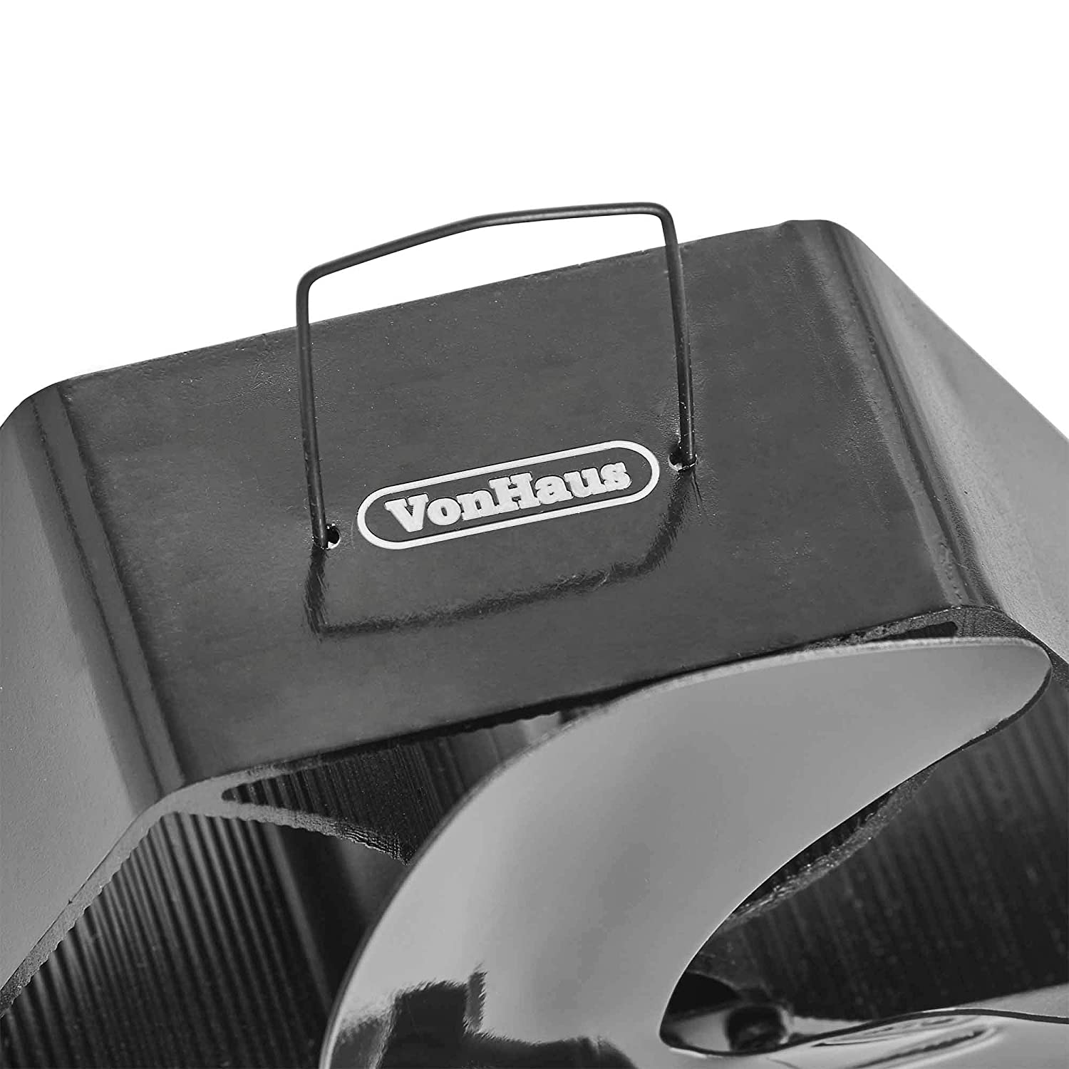 VonHaus XL 4 Blade Stove Fan 160-190 CFM Suitable for Use with Stoves Log Burners /& Fireplaces Thermoelectric//Heat-Powered//Eco-Friendly//Economical Circulates Heat for Improved Distribution