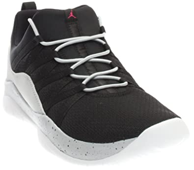 bca6a7b3d00a9 Jordan DECA Fly GG girls fashion-sneakers 844371 Black Wolf  Grey White Vivid Pink 5 M US Big Kid  Buy Online at Low Prices in India -  Amazon.in