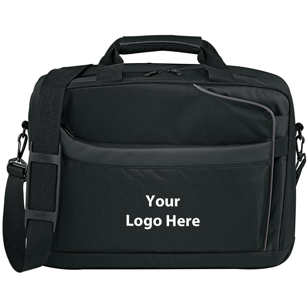 CheckMate TSA 15'' Computer Briefcase - 24 Quantity - $29.90 Each - PROMOTIONAL PRODUCT / BULK / BRANDED with YOUR LOGO / CUSTOMIZED