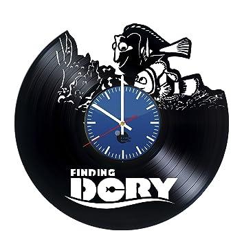 Findet Dorie Disney Vinyl-Schallplatte Wanduhr - einzigartige Küche ...