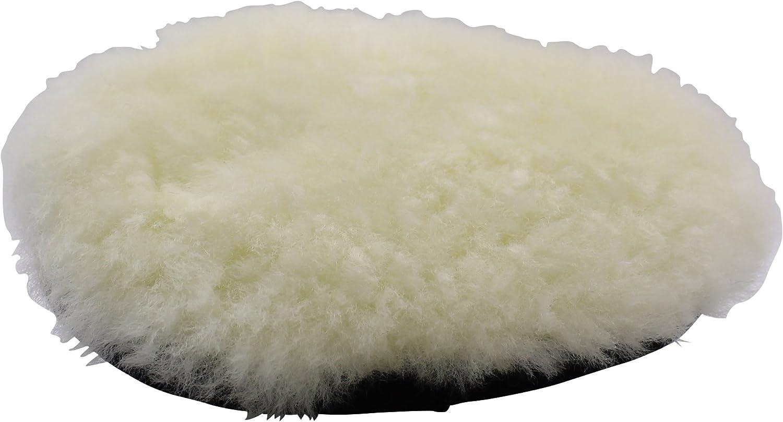 Cleanextreme Lammfell Hand Polierpad Weiß Handpolierpad Für Die Autopolitur Auto