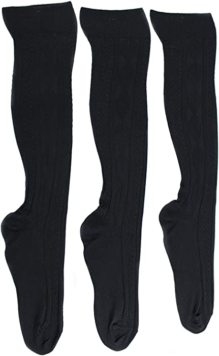 38af92dce66 Plus Size Cable Knit Tights