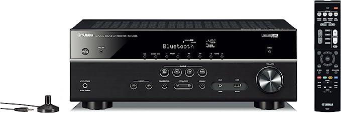Amazon.com: Yamaha RX-V385 5.1-Channel 4K Ultra HD AV Receiver with Bluetooth: Electronics