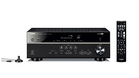 Yamaha RX-V385 5 1-Channel 4K Ultra HD AV Receiver with Bluetooth