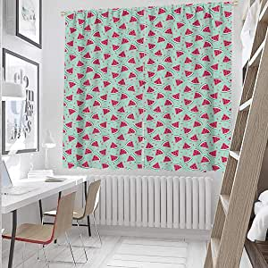 Amazon.com: Lush Decor Curtains 72 Inch Lenght Pop Art ...