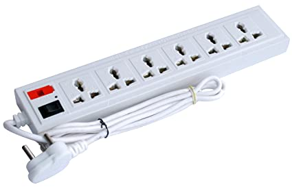 buy extension cord, board power strip with fuse surge protector 6 1 Circuit Breaker Fuse