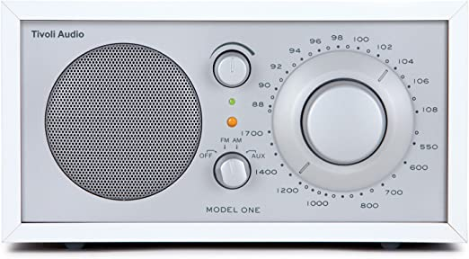 Tivoli Audio Model One Ukw Mono Transistorradio Weiß Silber Heimkino Tv Video