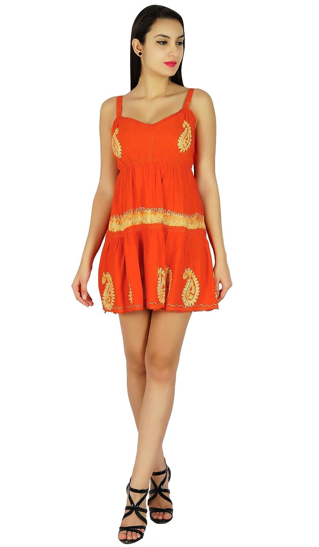 b098739cd3c1 SEASHORE Casual Batik Printed Dress Beach Top Viscose Rayon Tunic Summer  Sundress  Amazon.co.uk  Clothing