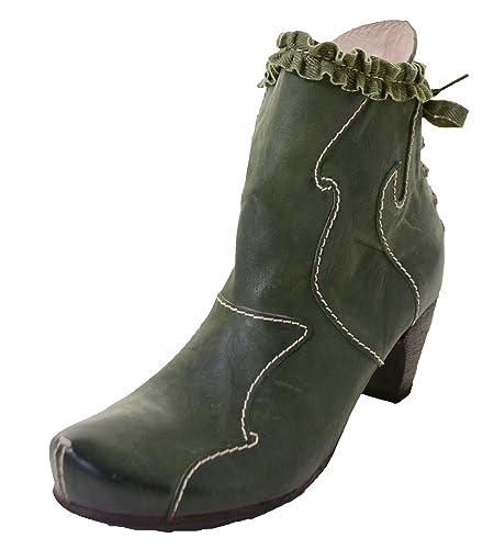Rovers 42003 Kiwi Grüne Stiefelette, Schuhgröße:37 D/EU