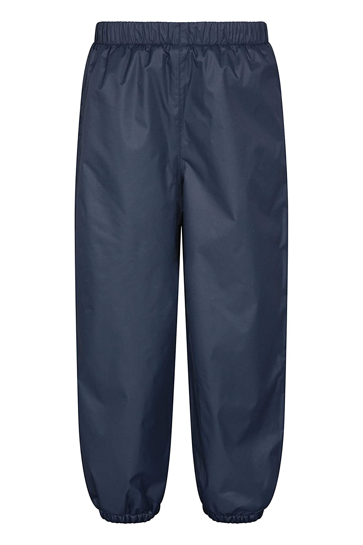 Travelling Warm Breathable Girls /& Boys Pants Mountain Warehouse Waterproof Fleece Lined Kids Trousers for Winter Walking Taped Seams Hiking